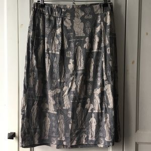 History or Bust skirt